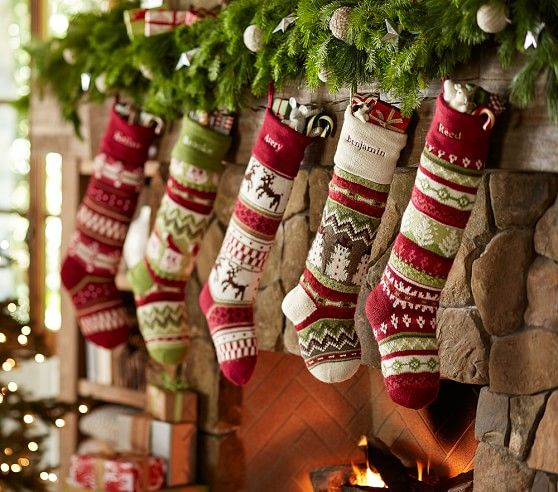 20 best Christmas Stockings images on Pinterest | Christmas deco ...