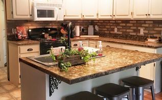 how to renovate your kitchen for under 600, chalk paint, diy, how to, kitchen…