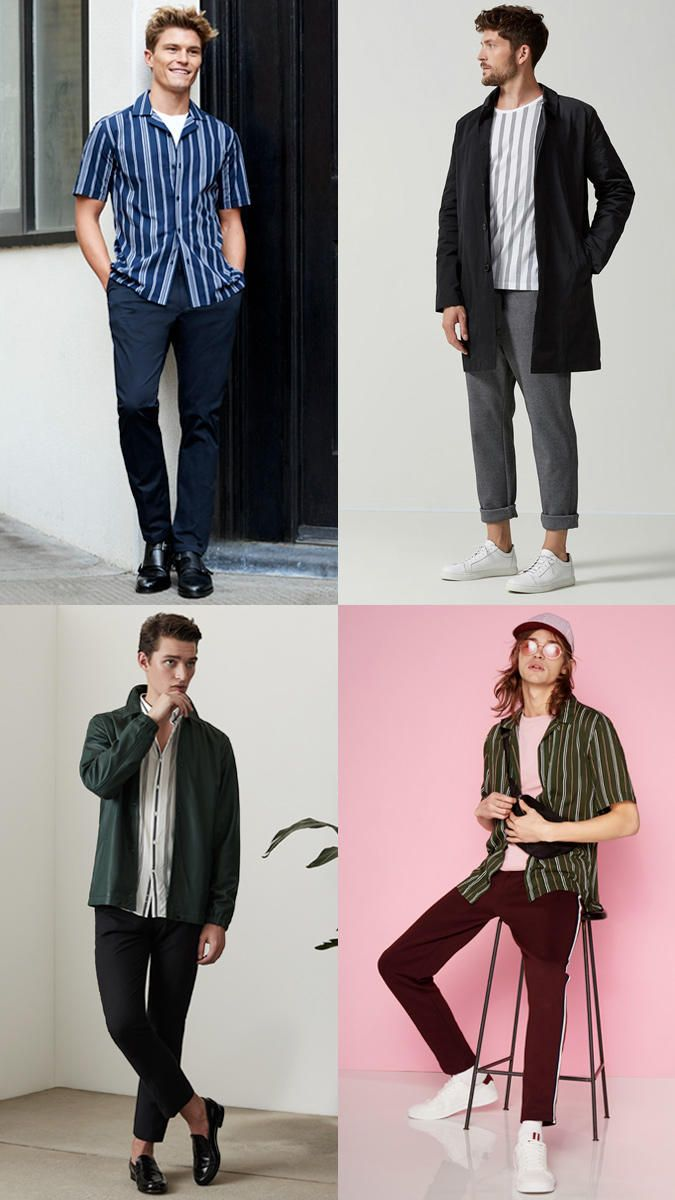 New trends fashion men photos