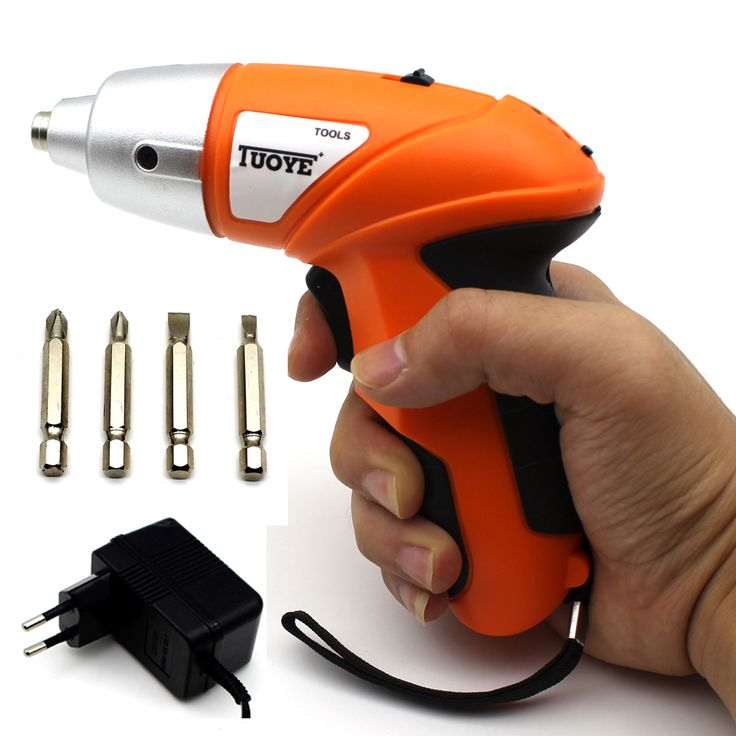 Eu Plug Electric Screwdriver Electrico Rechargeable Hand Drill Charging Pistol 2017 Time-limited Rushed Destornillador  #Affiliate