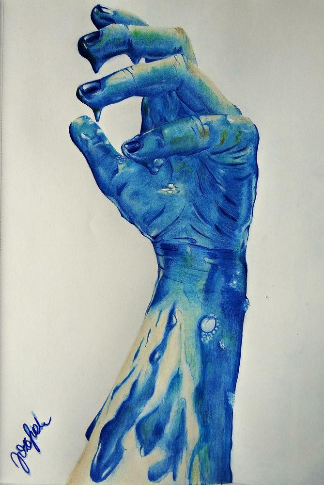 #drawings #hand #nataliajozefiak #coloredpencils #art