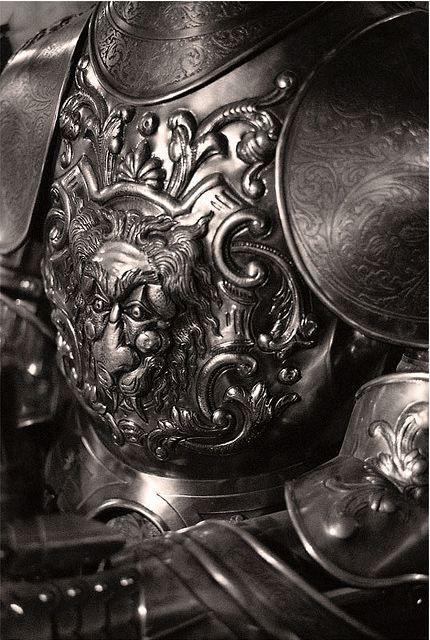 gorgeous artistically detailed chest armor