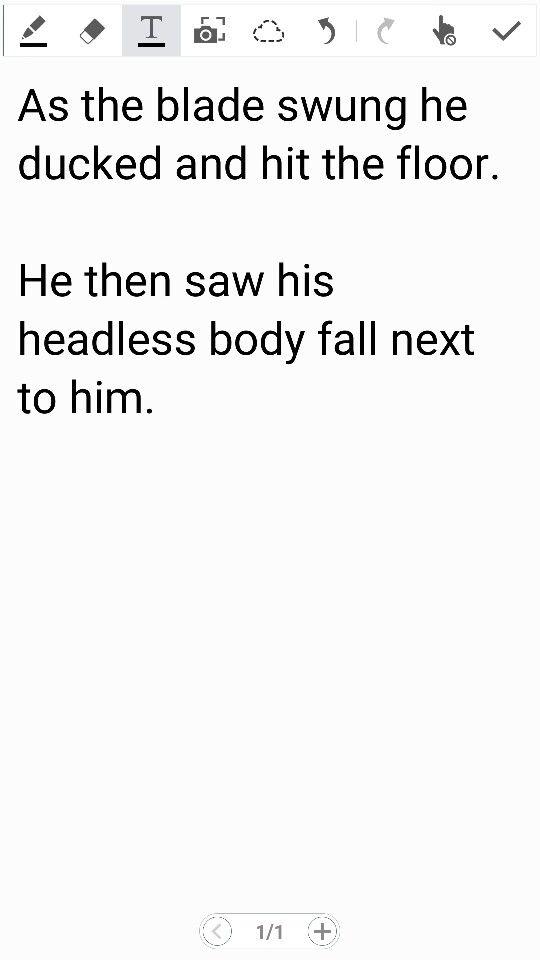 Two sentence horror stories.