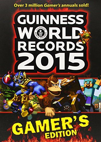 Guinness World Records 2015 Gamer's Edition, 2014 The New York Times Best Sellers Game Books winner, the Guinness World Records editors #NYTime #GoodReads #Books