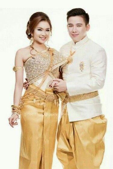 1000 Ideas About Cambodian Wedding Dress On Pinterest