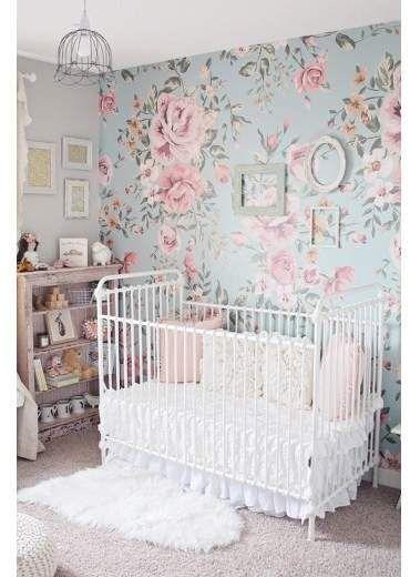 Lulu & Georgia Anewall Cutesie – Papier Peint Floral #wallpapermuralsstyle  – Butler house