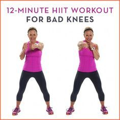 Try this high-intensity interval training workout that's still easy on the knees.