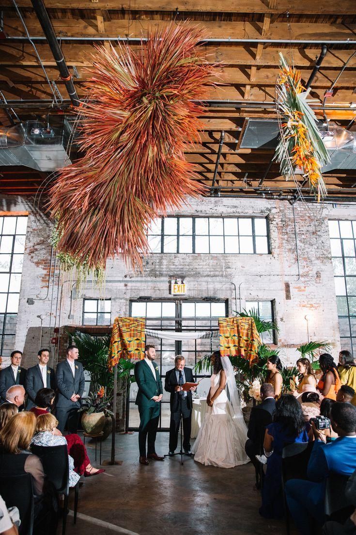 A Brooklyn Wedding in a Hip, Industrial Venue in 2020