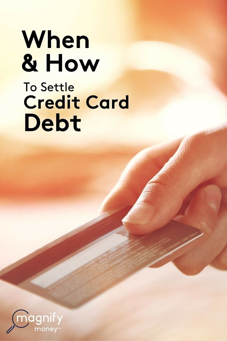 Are you drowning in a sea of credit card debt, have collection agencies hounding you, and have no idea what to do because you can't pay your balance?  There's a light at the end of the tunnel you're in, and it's not declaring bankruptcy.  http://www.magnifymoney.com/blog/consumer-watchdog/settle-credit-card-debt761165028 Debt Payoff, Credit Card Debt #Debt Debt Payoff, Credit Card Debt #Debt