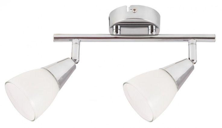 Nicolette, króm szpot lámpa   Lámpa Mester -  Nicolette 2-es szpot E14 2x40W króm/feh