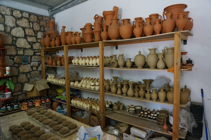 #Pottery Work in Progress #Rhodes #Island #Greece