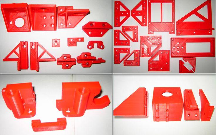 A8 to AM8 Profil Metal Frame Rebuild Kit Parts