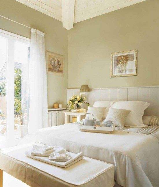 Dormitorio matrimonial cálido