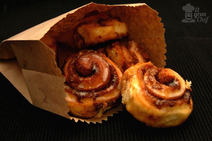 Espirales de canela o Cinnamon Rolls