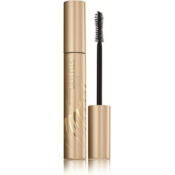 Stila Huge Extreme Lash Mascara found on Polyvore featuring beauty products, makeup, eye makeup, mascara, one colour, volumizing mascara, stila, stila mascara, black eye makeup and curling mascara