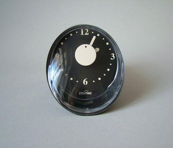 Vintage German kitchen clock egg timer space age by LeKosmosBerlin