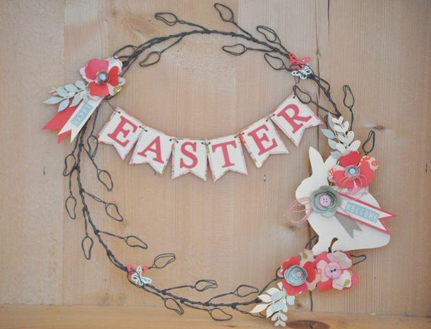 Easter/Spring garland: Manu x Hobby di Carta - Il blog