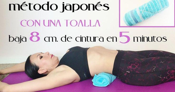 Reduce cintura en sólo 5 minutos al día con esta técnica japonesa