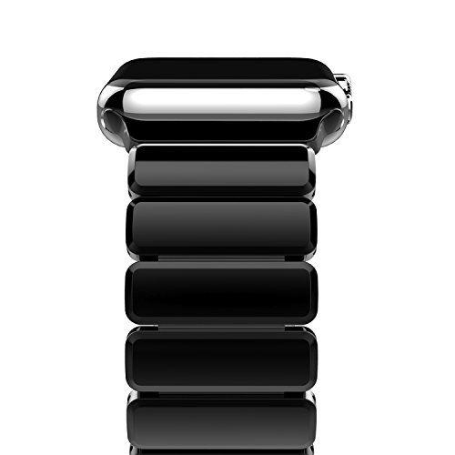 awesome Oittm Banda para Apple Watch Botón Vínculo Mental Banda Reloj Pulsera de Acero Inoxidable Pulsera Apple Watch 42mm Reemplazo Correa de iWatch Series 1 / Apple Watch Series 2  / Apple Watch Nike +