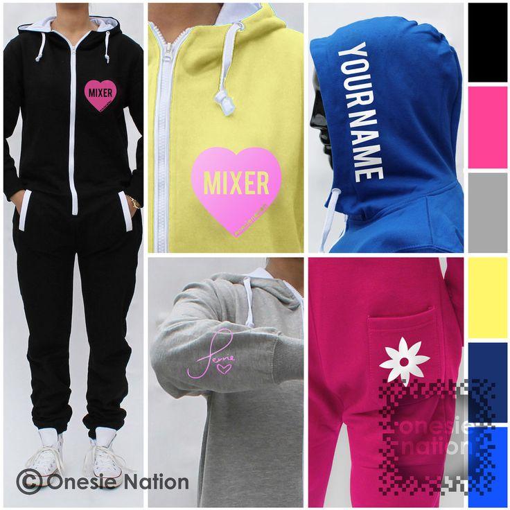 ONESIE NATION Perrie Edwards Little Mix Mixer Onesie Kids Girls Teen Age 7-13