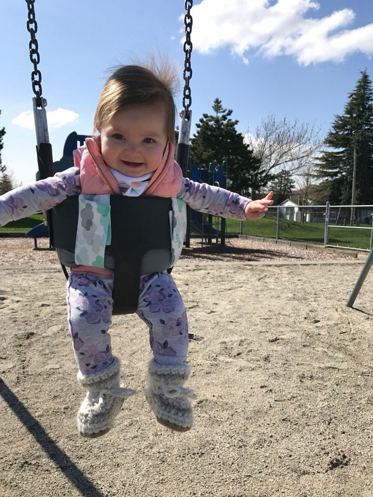 A happy little customer on a stunning Spring day.