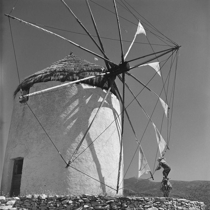 Paros island. Photo by Zacharias Stellas. The Benaki Museum Photographic Archive