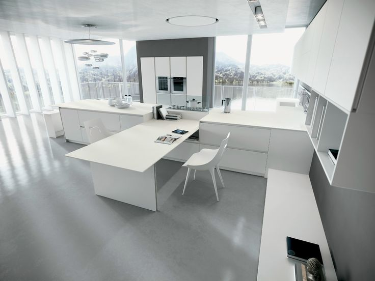 Fitted kitchen with island AK_04 by Arrital | design Franco Driusso