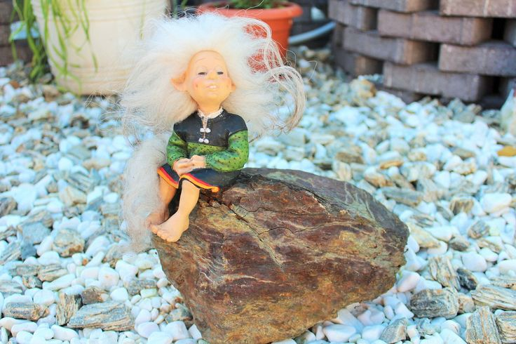 Vintage Original Norwegian Candy Design Troll Doll Norway Scandinavian Figurine by Grandchildattic on Etsy