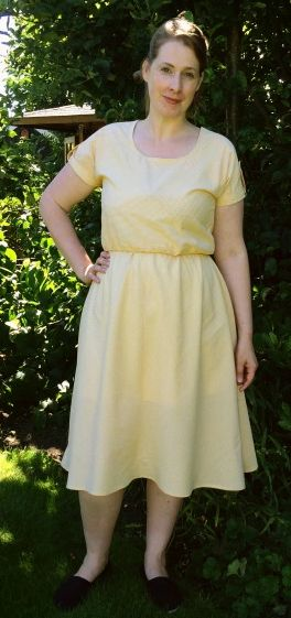 Wilma's Bettine/Dominique mash up - sewing patterns by Tilly and the Buttons