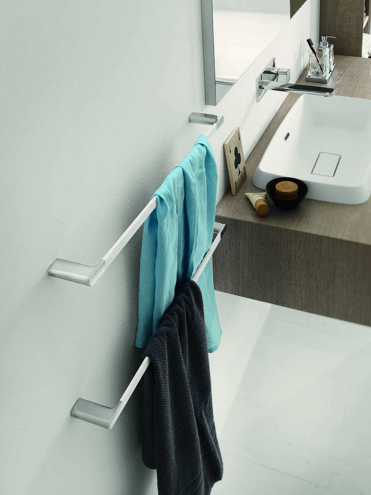 Mito Accessories are also available in White soft touch finish