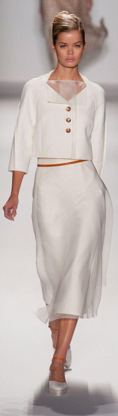 Carolina Herrera at NYFW Spring 2014                                                                                                                                                     More