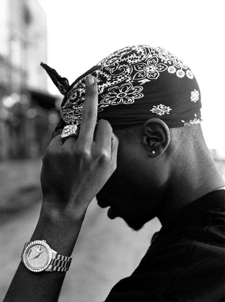 Tupac Shakur by Michael Miller, 1994