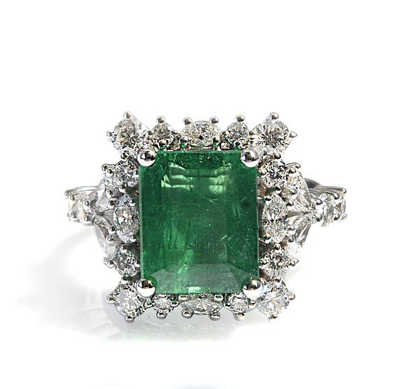 Anelli con smeraldo anelli con smeraldo e diamanti anelli in