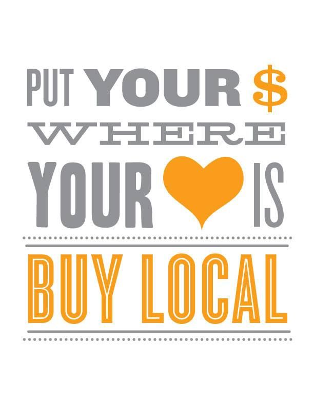 """Find what's near to your heart and close to your home with our """"Locals Only"""" Business Search! Photo from Get Local Flavor."""
