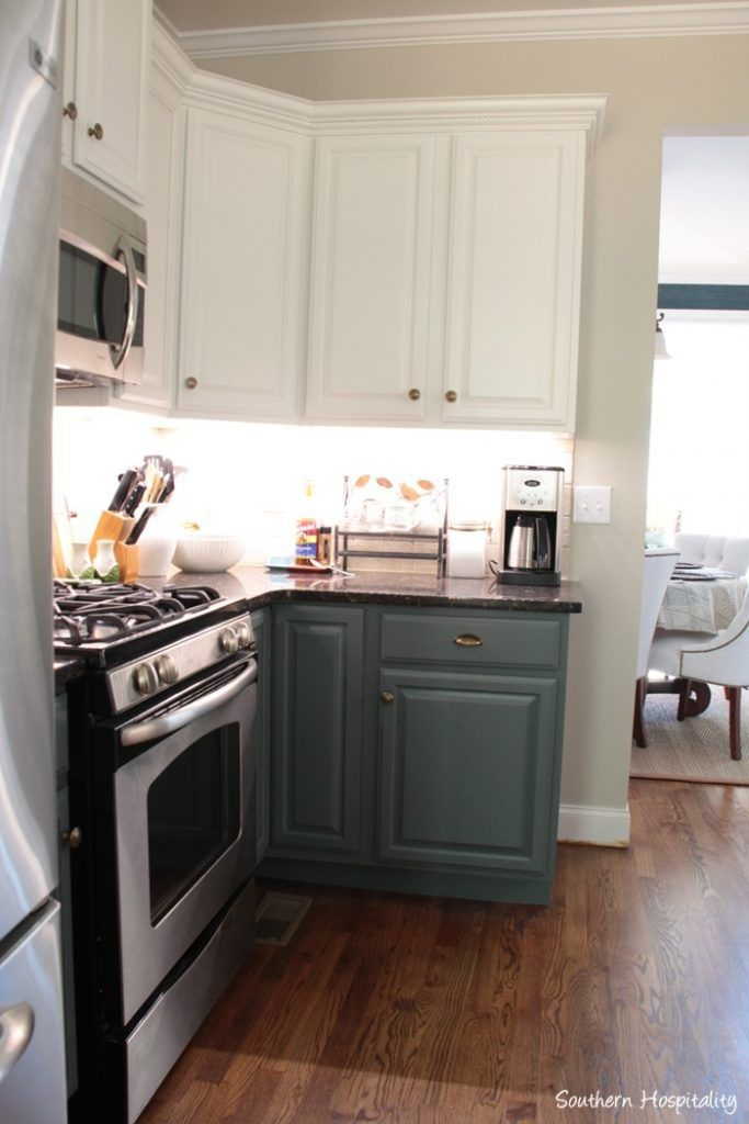 Our Painted Kitchen Cabinets Kitchen Painting Kitchen Cabinets