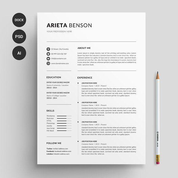 Resume Cv Resume Design Template Resume Cv Resume Design