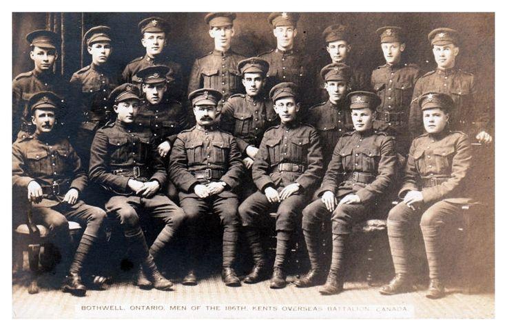 186th Kents Battalion Bothwell Ontario