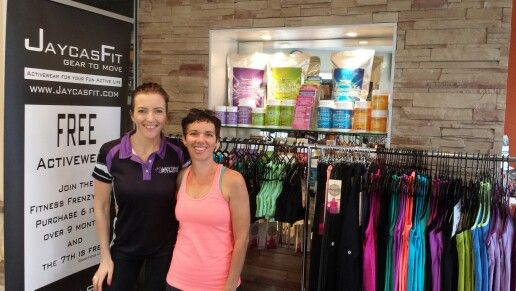 Anytime Fitness Buderim with Monique.