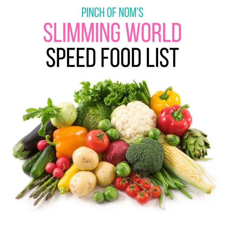 We asked people what would help them on their Slimming World journey and this Slimming World Speed Food List was pretty high up on the list!