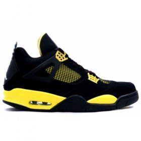 Air Jordan Retro 4 ls thunder black tour yellow white 314254-071 Just sale for $84.00 http://www.centrafilmes.com/
