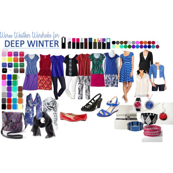 """Colors for """"Deep Winter"""" to wear in summer"""
