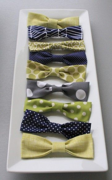 @Brittany Moody Merson Bow tie party favors for a preppy boy shower. Would be cute to add an old fashioned candy stick to the backside of the tie as a little to-go treat for guests.    If you guys have a boy....i'm soooo dressing him like a preppy old man....YES! Not even pregnant or planning to be but too cute, I love this!!
