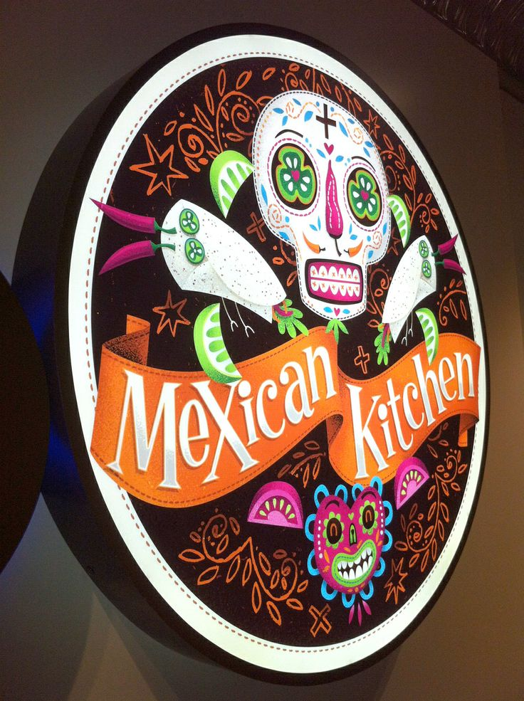 Behance Network :: Mexican Burrito Bar Mural