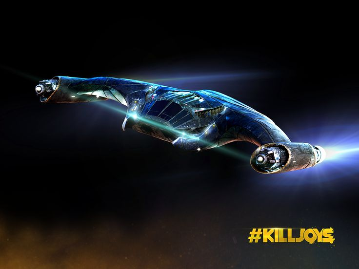 """Lucy"" the snarky ship from Syfy's Killjoys tv series #spaceship"