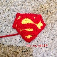 Free Crochet Pattern: Superman Emblem Appliqué | Crochet Direct