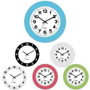 This Quartz Clocks is made of Plastic and quartz. Customized LOGO printing is available.