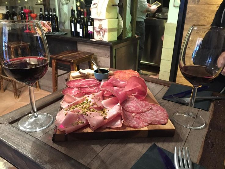 I Vicini Bistrot in Roma, Lazio Number 1 place on trip advisior. Small bistro which specialises in home made meats, cheeses. bread and oils with excellent wines. Come early as place is small and gets packed.