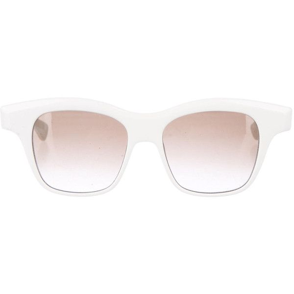 white sunglasses  17 Best images about Sunglasses on Pinterest