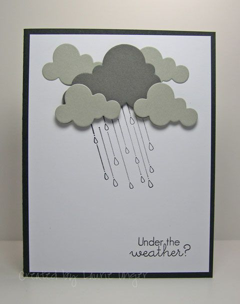 Lauries Stampin Place: Under the weather?