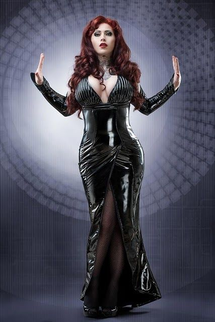 Mermaid Latex Dress